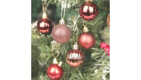 Image of a Deep Red Colored Ornaments