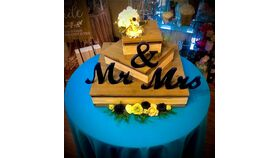 """Mr. & Mrs."" Decorative Letters image"