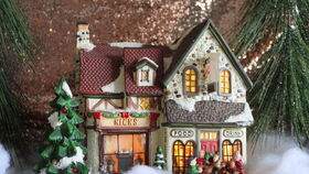 Image of a Christmas Town