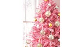 Image of a 6 ft Pink Christmas Tree