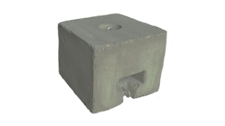 Picture of a 500 lb Blocks/weights