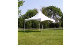Image of a 10 x 10 HP Frame Tent