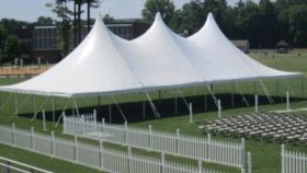 Image of a 40 x 80 Pole Tent