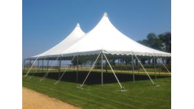 Image of a 40 x 60 Pole Tent