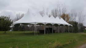 Image of a 10 x 100 Frame Tent
