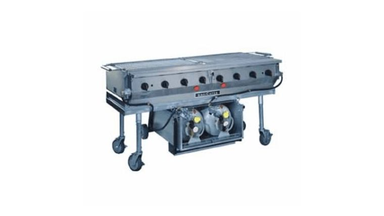 Picture of a 3 x 5 Propane Grill