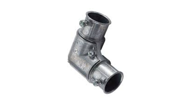 Picture of a 90 degree conduit elbo