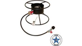 "Image of a Portable Outdoor Cooker, 17"" Diameter Flat Stand"