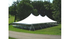 Image of a 30 x 60 Century Pole Tent