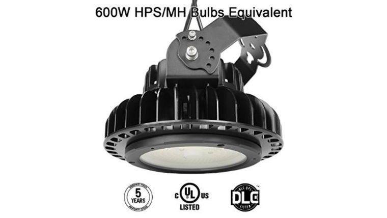 Picture of a 150 watt LED high bay light