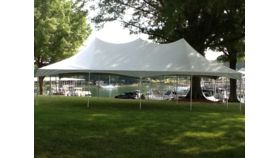 Image of a 20 x 40 Pole Tent