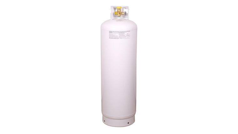 Picture of a 100lb Bottle of Propane