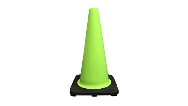 """Picture of a Traffic Cones 18"""" Green"""