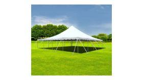 Image of a 40 x 40 Single Pole Engineered Pole Tent