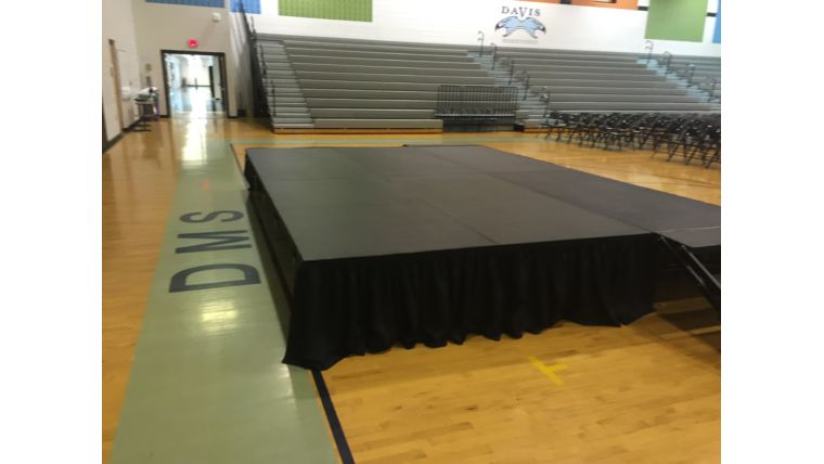 Picture of a 16 x 16 Stage Package