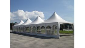 Image of a 15 x 45 HP Frame tent