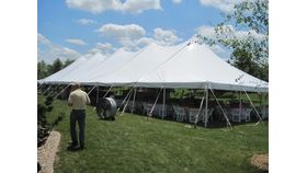 Image of a 40 x 120 Tent