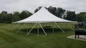 Image of a 30 x 30 Century Pole Tent