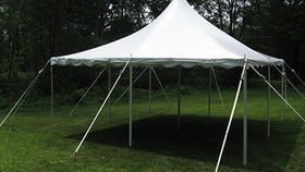 Image of a 20 x 20  Pole Tent
