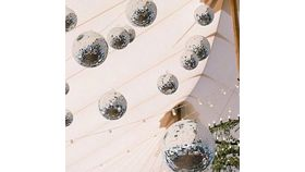 """Image of a 8"""" Mirror Ball"""