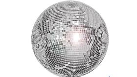 """Image of a 20"""" Mirror Ball"""