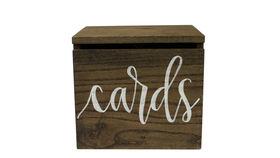 Image of a Card Box w/lock