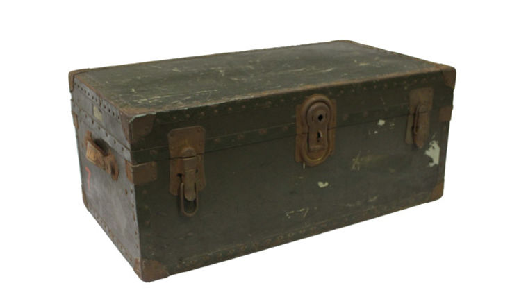 Picture of a Classic Luggage Trunk