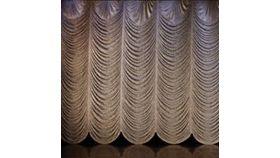 Image of a Austrian Frazzle Fabric Drape Panel 30' x 40'