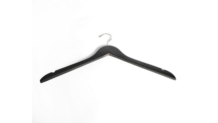 Picture of a Black Coat Hanger