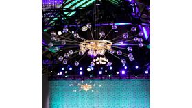 Image of a Atomic Grandé Chandelier
