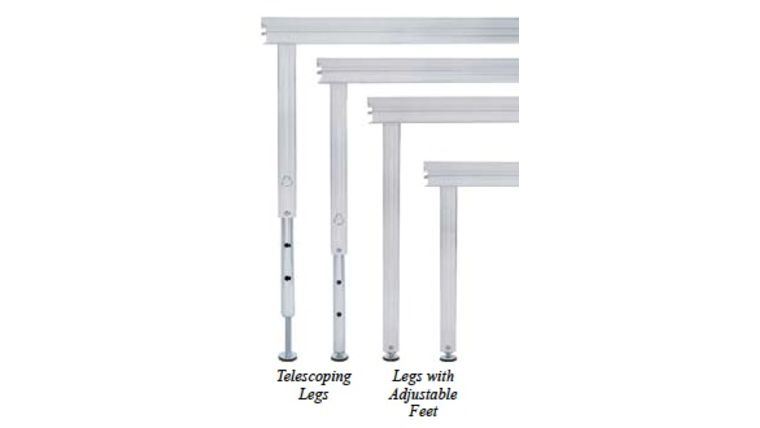 """Picture of a 12"""" Stage Legs"""