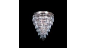 Image of a 7 Tier Glass Chandelier