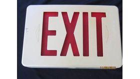 Illuminated Exit Sign image