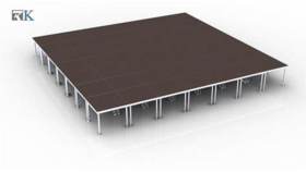 Image of a 12 x 12 Stage