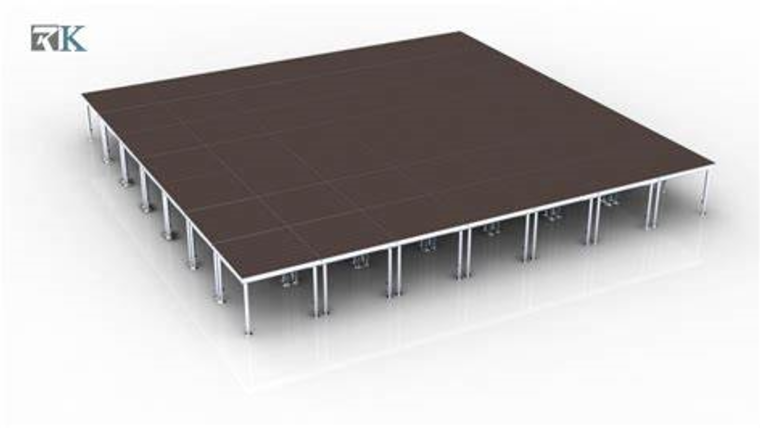 Picture of a 12 x 16 Stage
