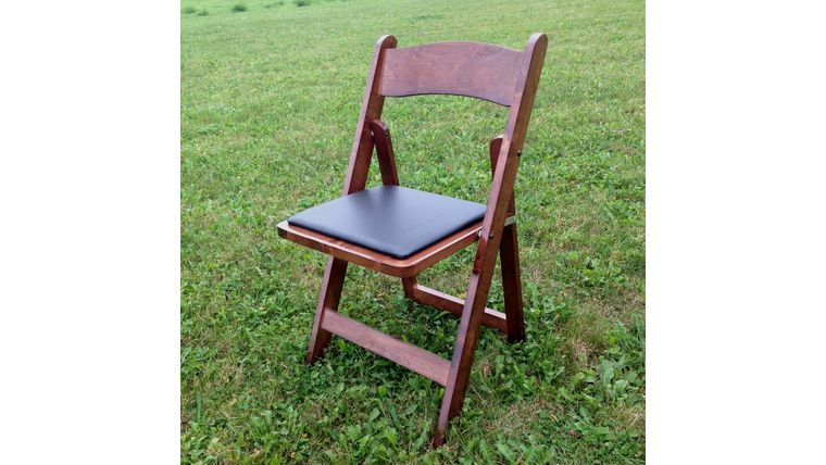 Picture of a Dark Folding Garden Chairs