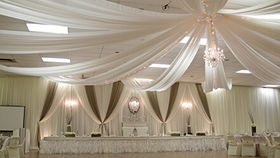 Image of a 40' Ceiling Canopy/Draping