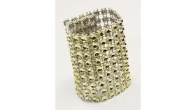 Image of a Gold Bling for Chair Cover