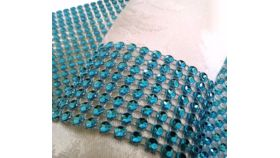 Image of a Blue Bling for Chair Covers
