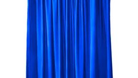 Image of a 14' Drape Panel - Royal Blue