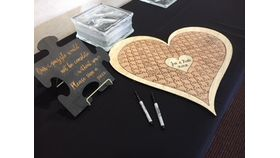 Image of a Customized Puzzle Guest Book