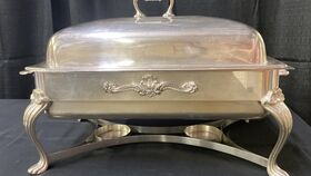 Image of a 8 QT ROLL TOP CHAFER SILVER