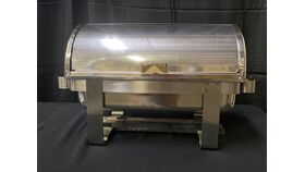 Image of a 8 QT ROLL TOP STAINLESS CHAFER