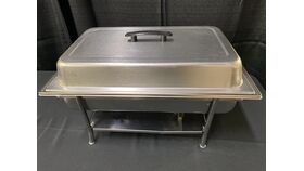 Image of a 8 QT REC STAINLESS CHAFER