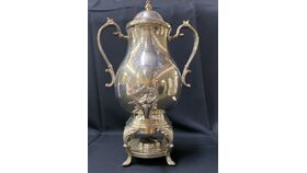 Image of a 50 CUP SILVER COFFEE URN
