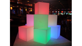 "Image of a Glow Cube 24""x24"" Battery LED"