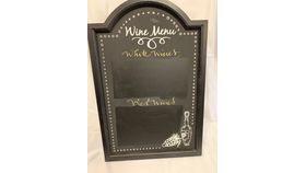 Image of a Wine Menu Chalkboard (I)