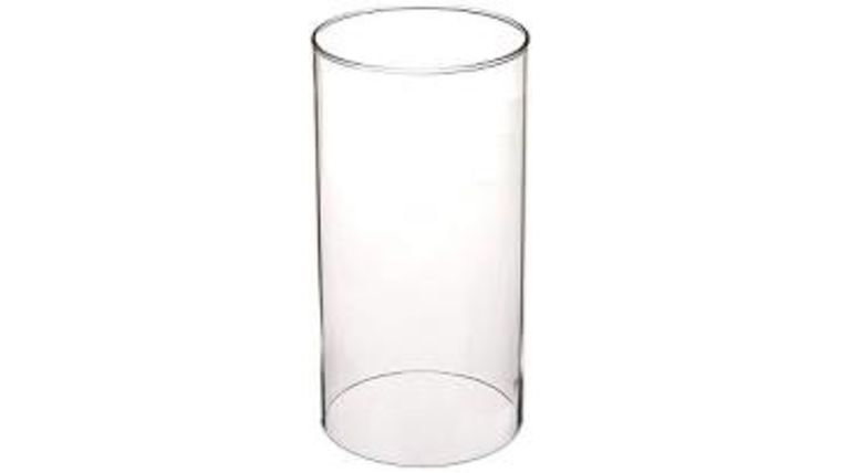 Picture of a 11 inch Glass Cylinder - hollow