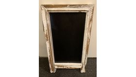 Image of a Rustic Double Sided Chalkboard - small (R)