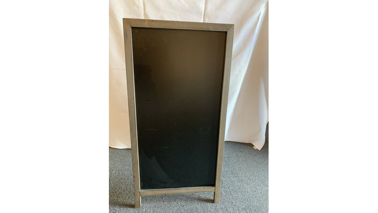 Picture of a Brown Edged Double Sided Chalkboard - Large (V)